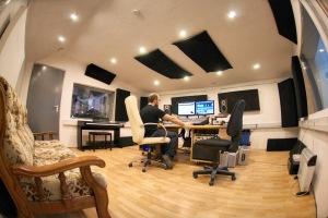 Sound Up Studio - Salle de monitoring